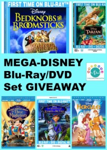 CLOSED: Massive Disney GIVEAWAY: Multi-Pack DVD/Blu-Ray Movies: Tarzan, Hercules, Bedknobs & Broomsticks, The Three Musketeers, Fun & Fancy Free and Ichabod & Mr. Toad