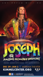 Joseph & the Amazing Technicolor Dreamcoat comes to #BWYPHL – Family 4-pack Special